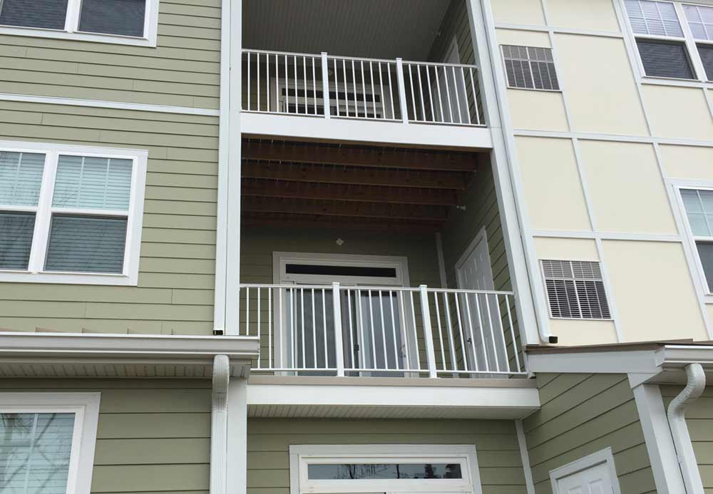 Fiberglass Roofing Apartment Balcony Contractors Rooftop