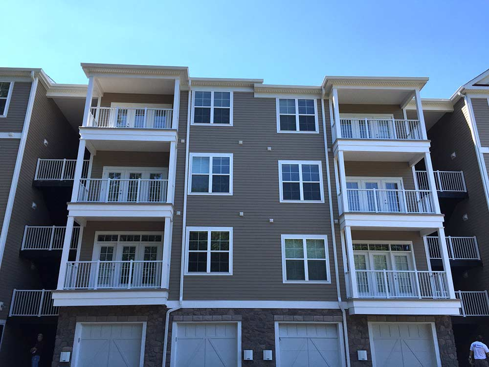 Fiberglass Roofing Apartment Balcony Contractors Rooftop