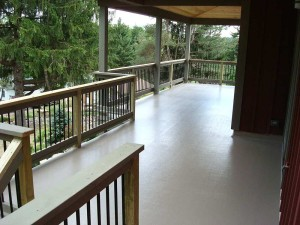 Maintenance free fiberglass deck Elk Mountain, PA