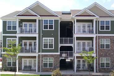 Fiberglass Apartment Balconies